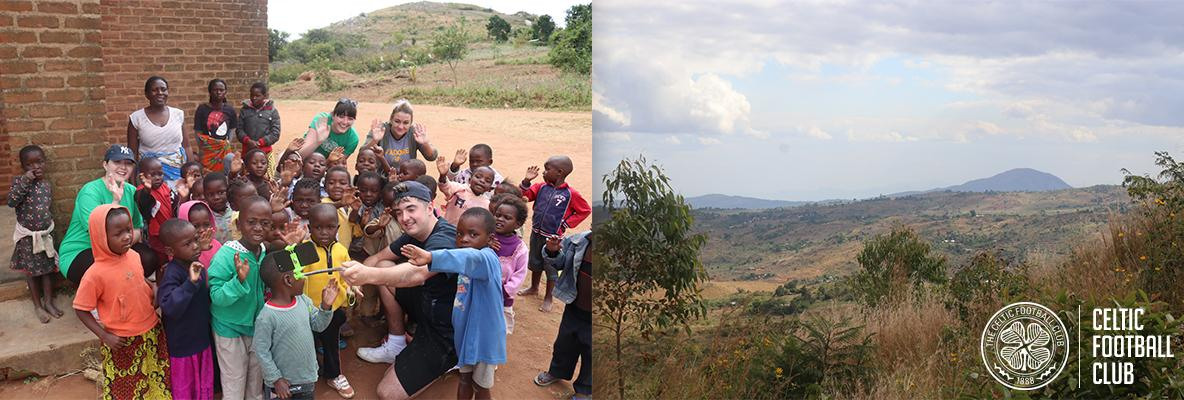 Celtic FC Foundation's Malawi adventure well under way