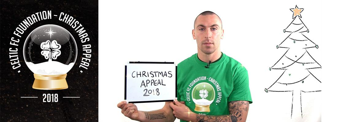 Celtic first-team get behind Foundation's 2018 Christmas Appeal