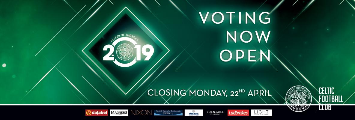 Player of the Year Awards 2019 – one week to make your vote count