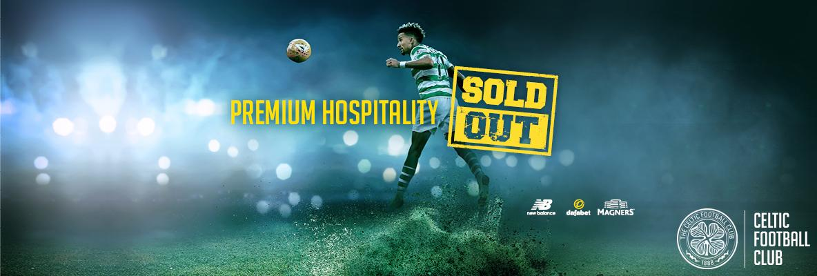 Premium hospitality sold out - limited number 7 spaces available