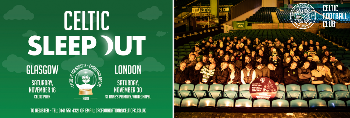 Supporter Scott Set To Make It Five-In-A-Row At Celtic Sleep Out