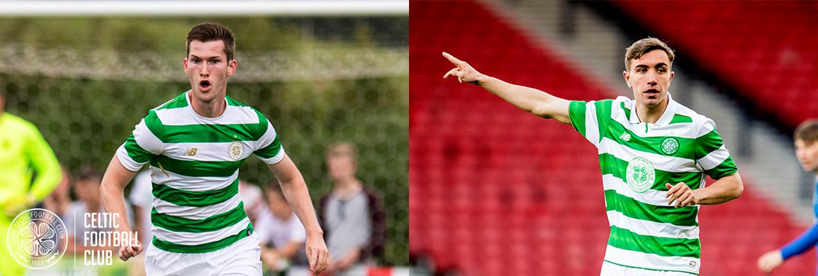 Jamie McCart and Joe Thomson leave Celtic