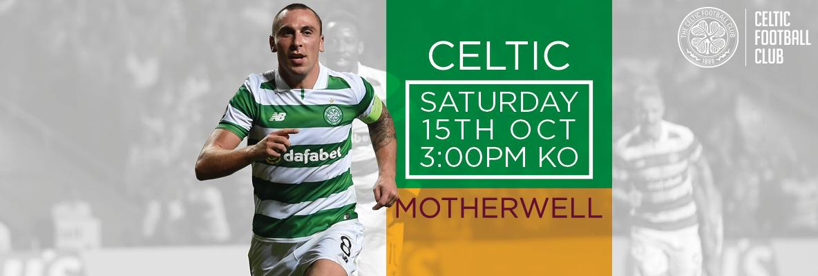 Celtic v Motherwell tickets now on sale