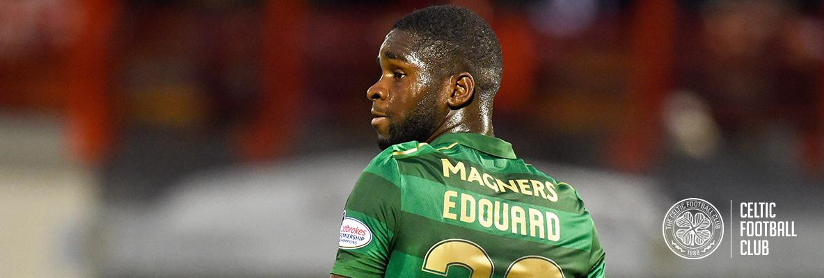 Edouard starts for Celts against Motherwell