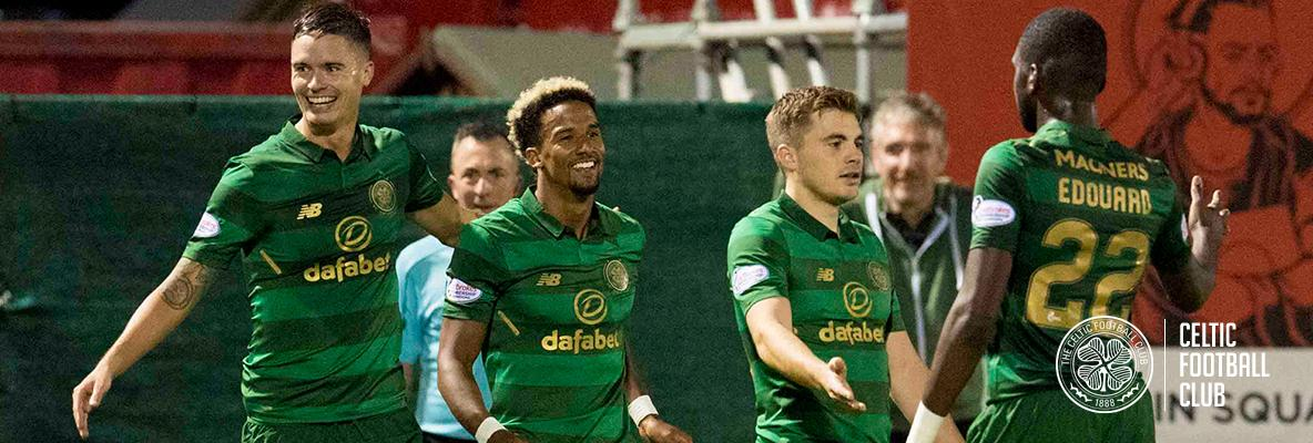 Debut delight for Edouard as stylish Celts sink Hamilton