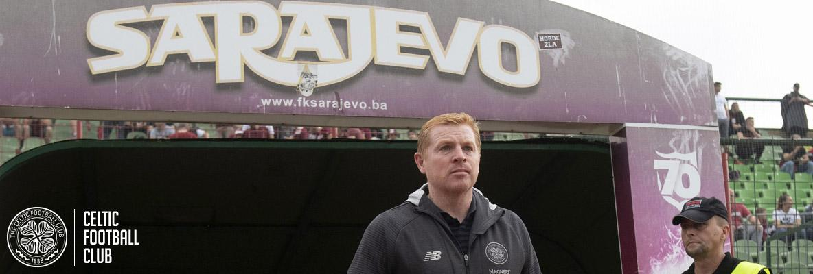 Manager: Sarajevo win is a fantastic start to competitive fixtures