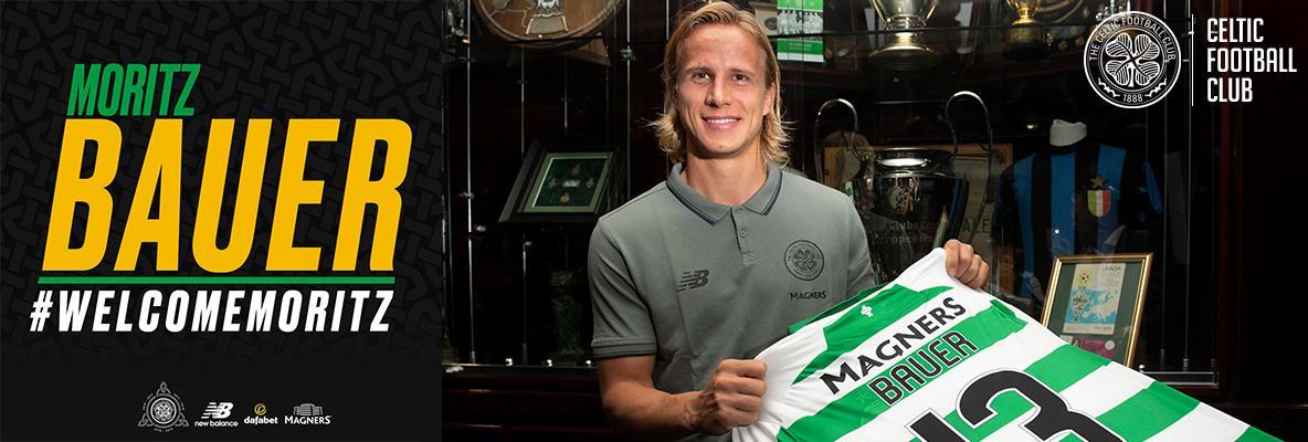 Moritz Bauer signs for Celtic on season-long loan