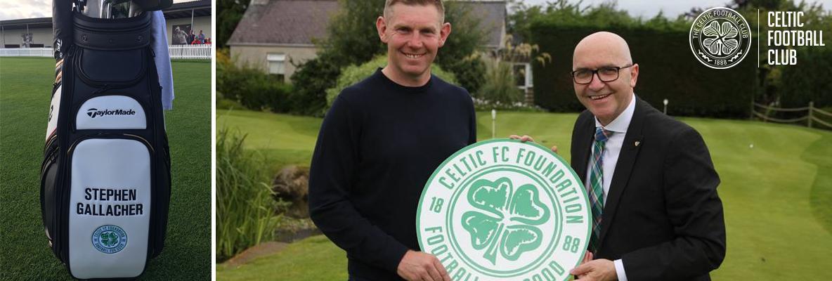 Celtic FC Foundation bag Stephen Gallacher's support
