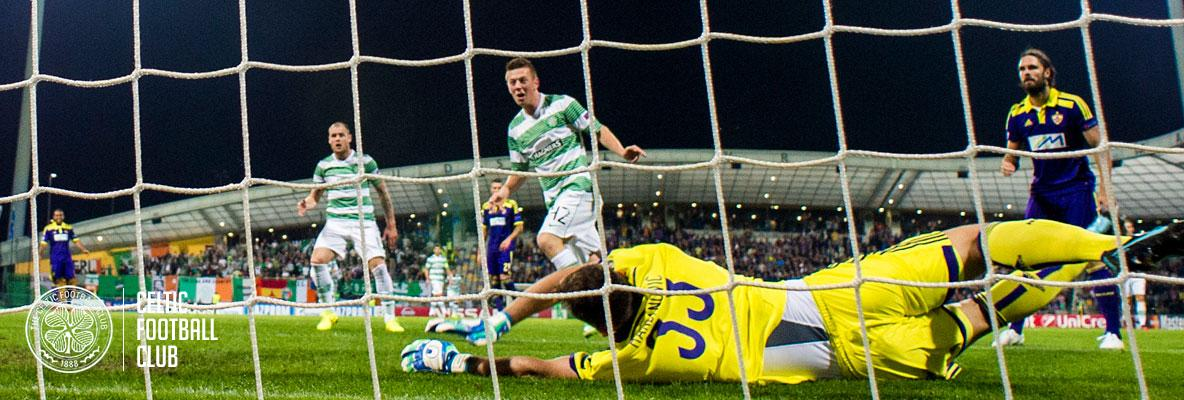 Celtic secure valuable draw in Maribor
