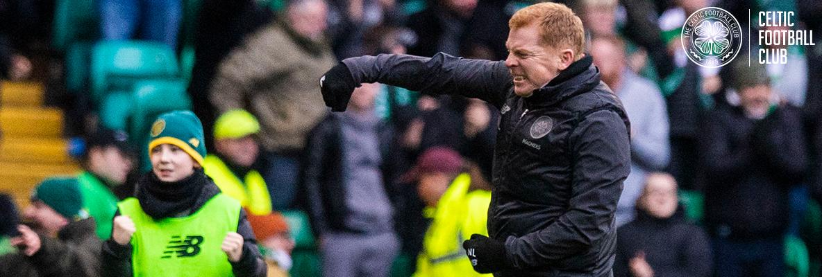 Neil Lennon: I'm delighted with players' response and performance