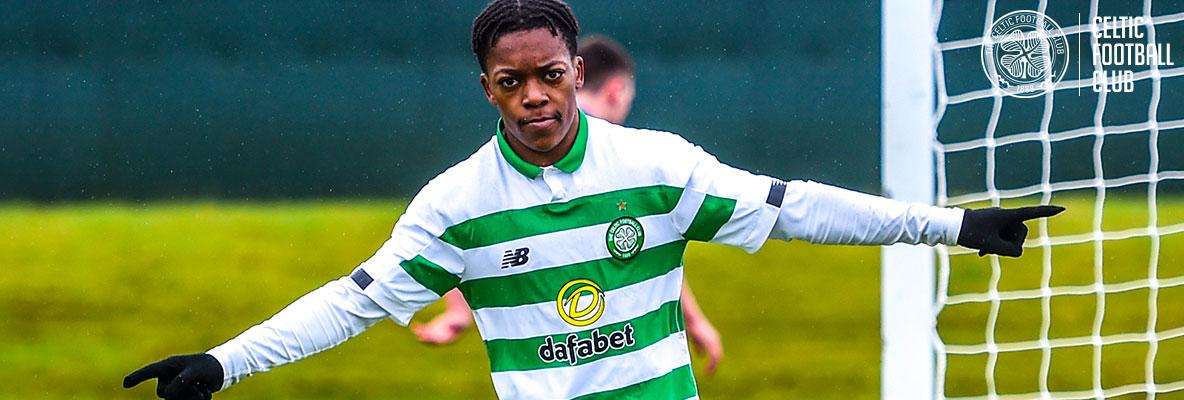 Karamoko at the double as Celtic reserves book cup final place