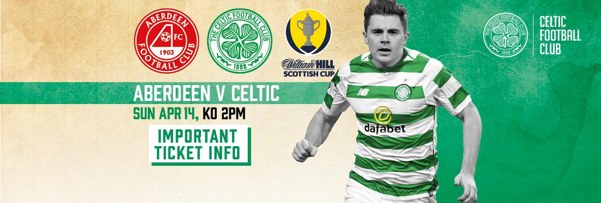 Scottish Cup semi-final important ticket information