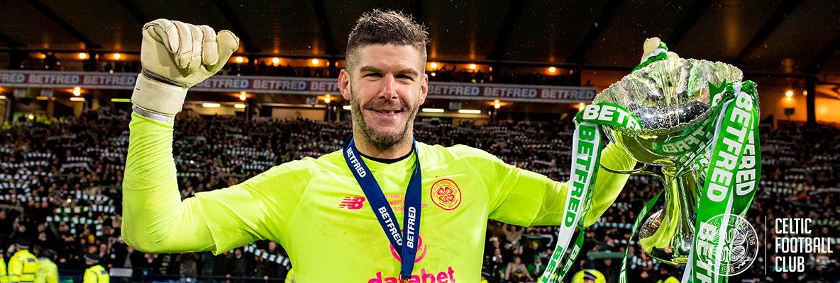 Fraser Forster: Winning is all that matters in cup finals