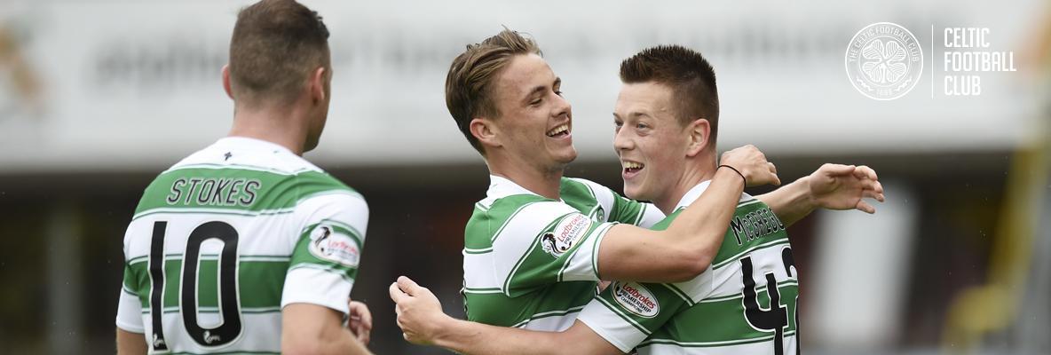 Celts sparkle in Tannadice thriller