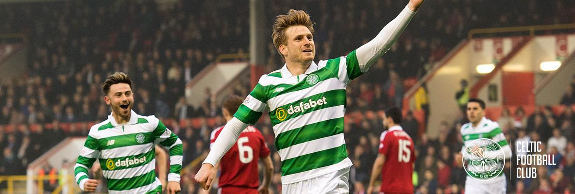 Unbeaten Celts reach 100 points with Pittodrie triumph