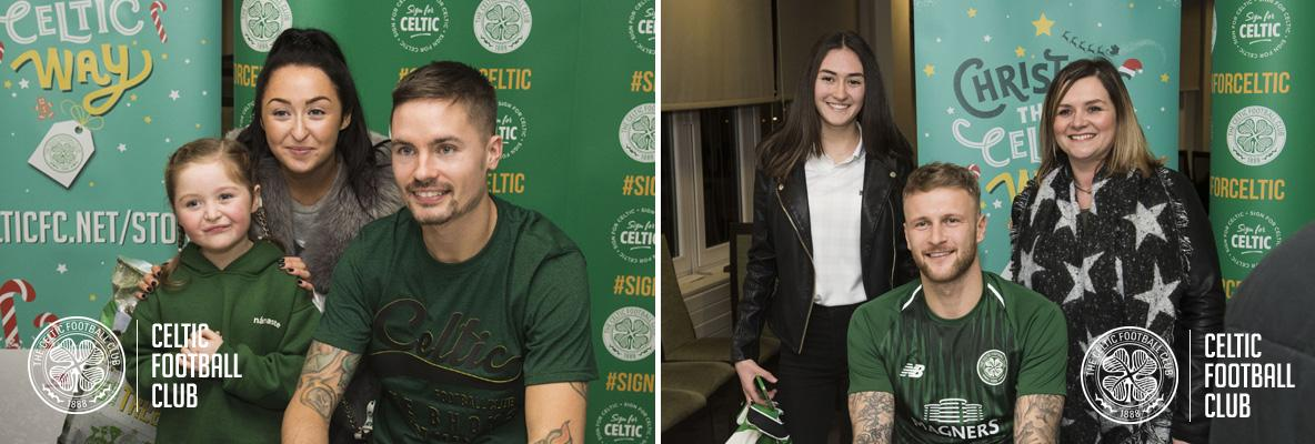 'Sign for Celtic' fans treated to special signing events