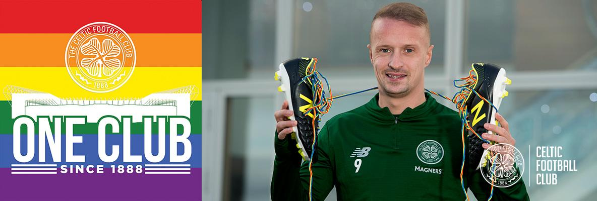 Celtic support Rainbow Laces campaign