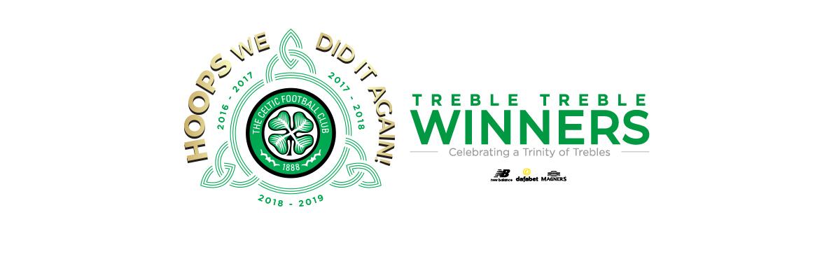 Celtic make history with Treble Treble triumph at Hampden