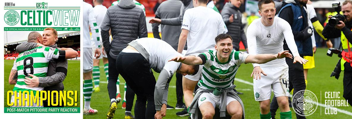 Kieran Tierney: This title is for our Lisbon legends
