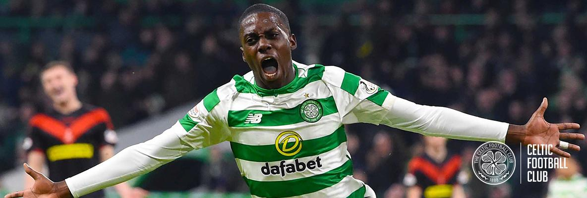 Weah makes Paradise go boom as Celts sweep aside Airdrieonians