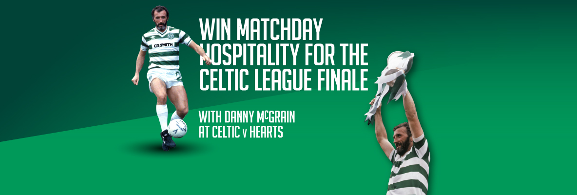 Win hospitality for the Hoops' league finale with Celtic Pools