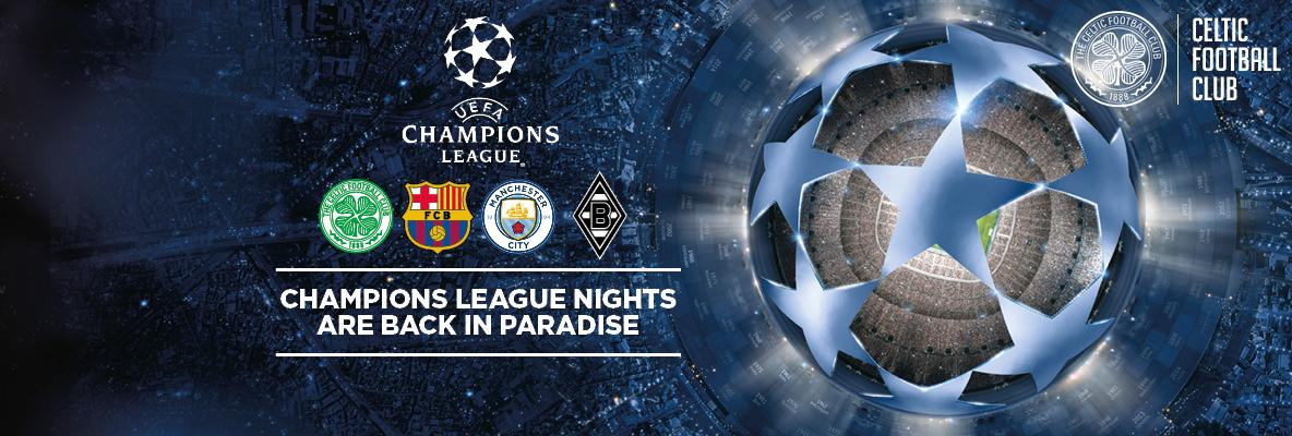 Buy UCL season ticket holder packages online to beat the queues