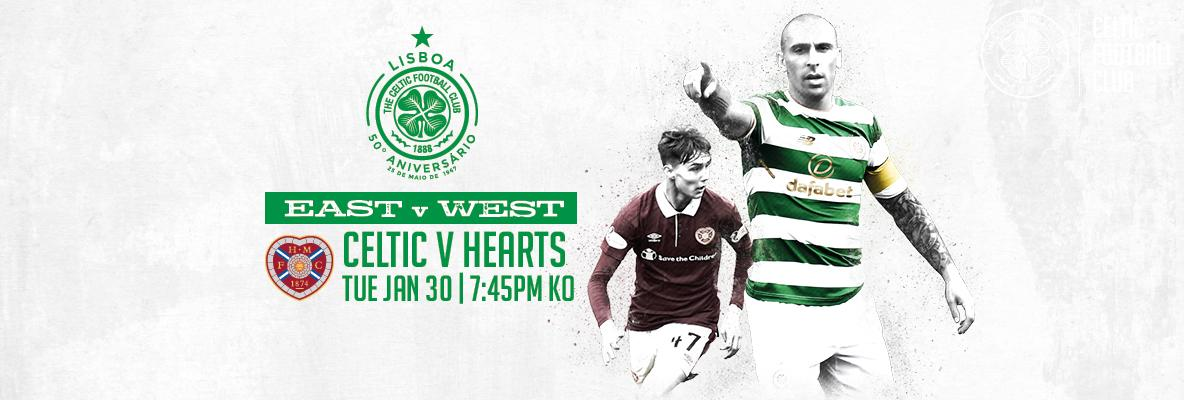 Time running out to secure your Celtic v Hearts tickets