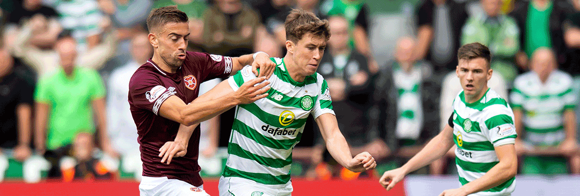 Celtic suffer defeat to Hearts at Tynecastle