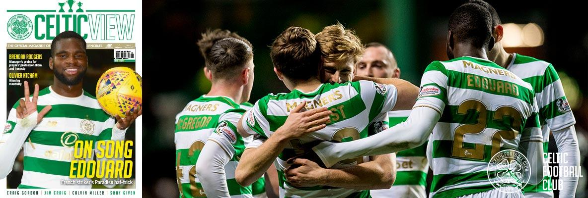 In this week's top of the table Celtic View