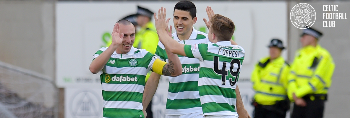 Brown fires dominant Celts to victory at Dens Park
