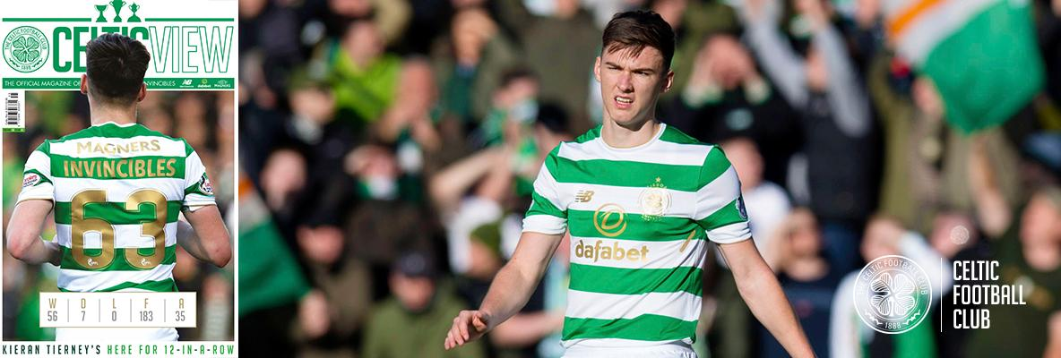 Kieran Tierney: I play to thank the Celtic fans in every game