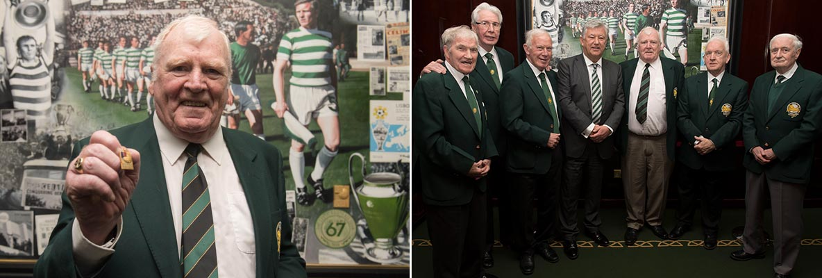 John Fallon delighted to be reunited with European Cup medal