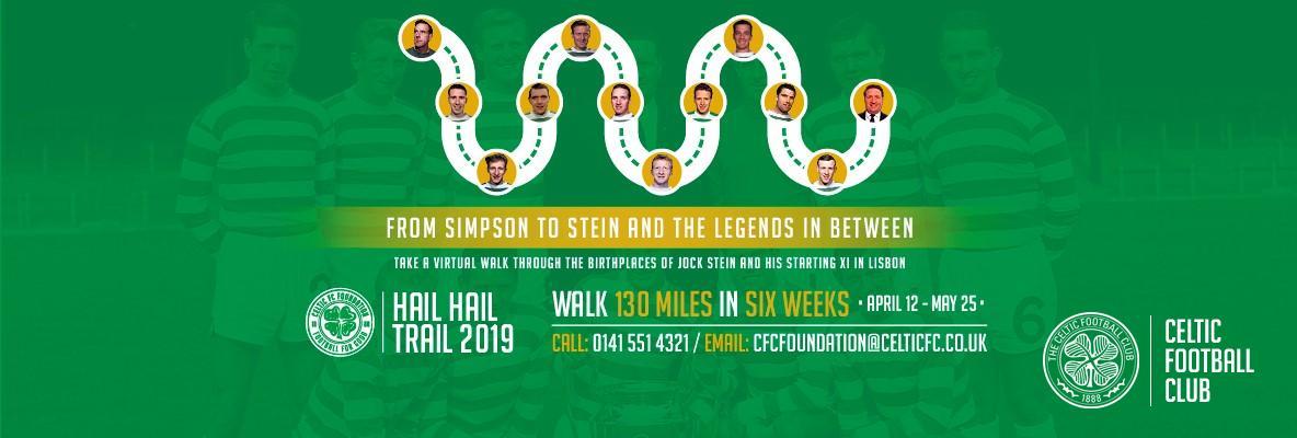 Join Celtic FC Foundation's Hail Hail trail 2019