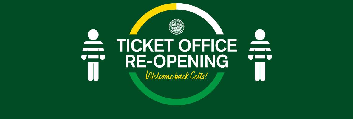 Ticket office re-open - renew Season Ticket before extended deadline