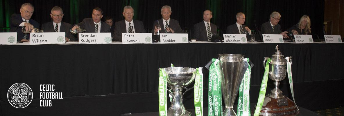 Club reflects on a positive year on and off the park at AGM