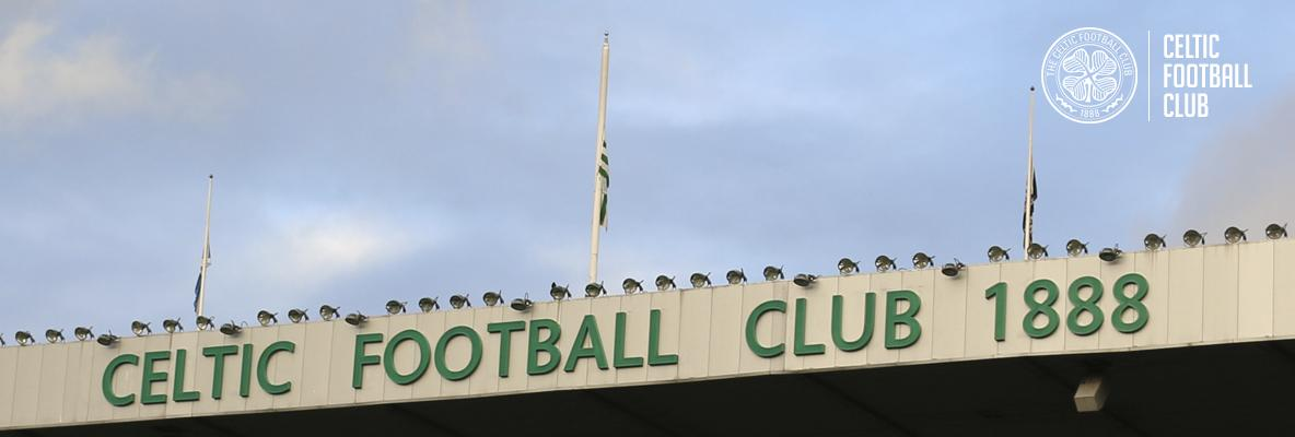 Thoughts and prayers from everyone at Celtic