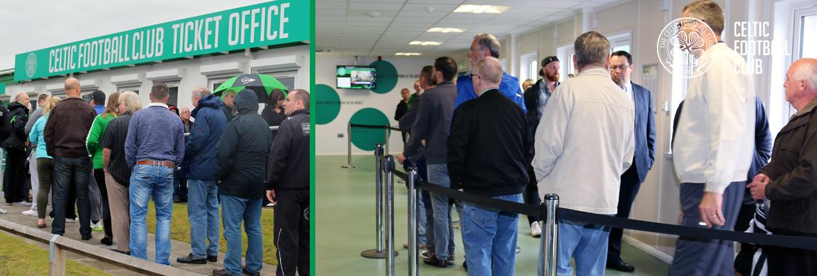 Arrive early and beat the queues ahead of Qarabag clash