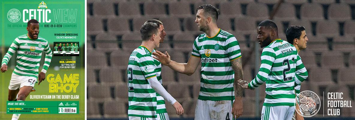 Neil Lennon looks ahead to the derby in this week's Celtic View