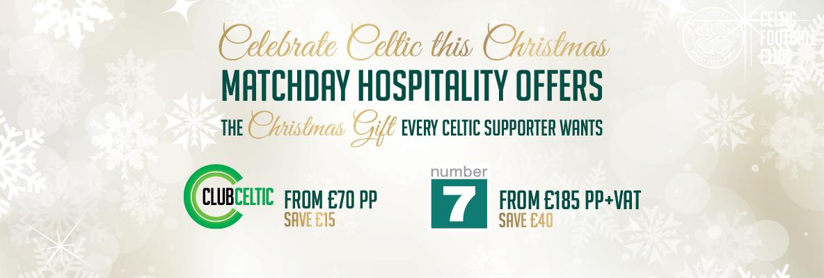 Great value hospitality packages make the perfect Christmas gift