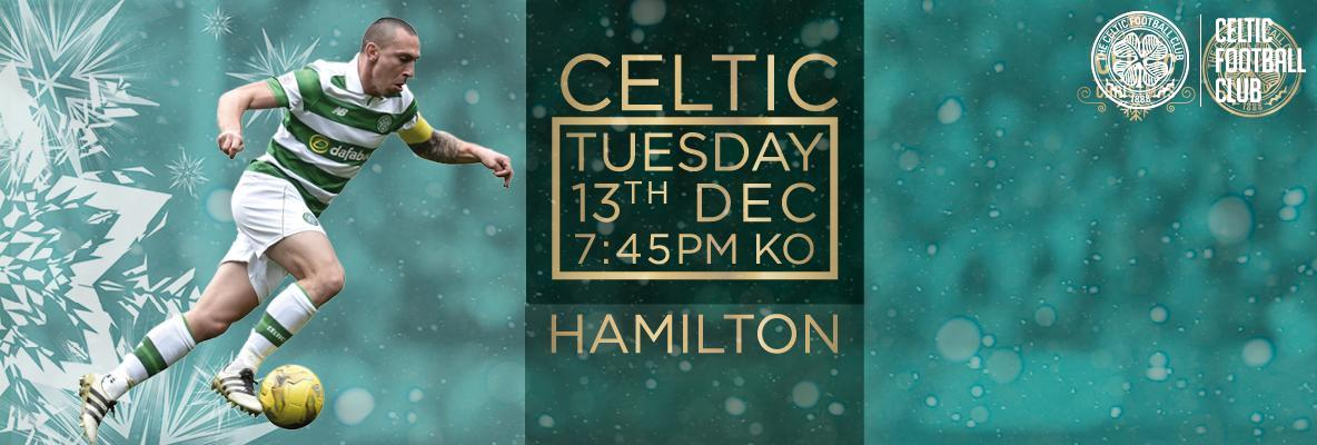 Your Celtic v Hamilton Accies Matchday Guide