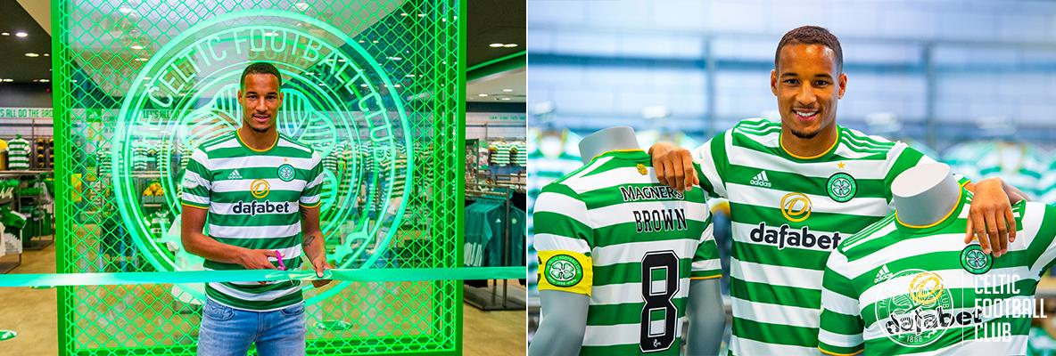 A green and white midnight as new kit released at brand new store