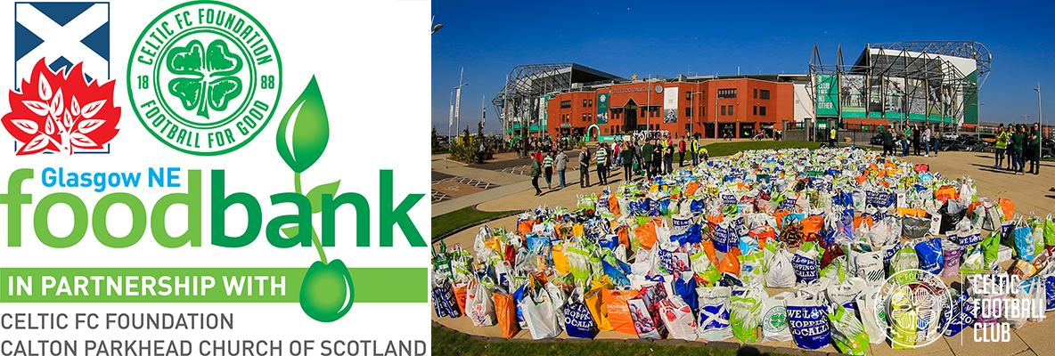 Reminder – Foodbank Collection pre-match against Kilmarnock