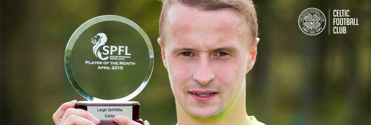 Griffiths wins April's SPFL Player of the Month award