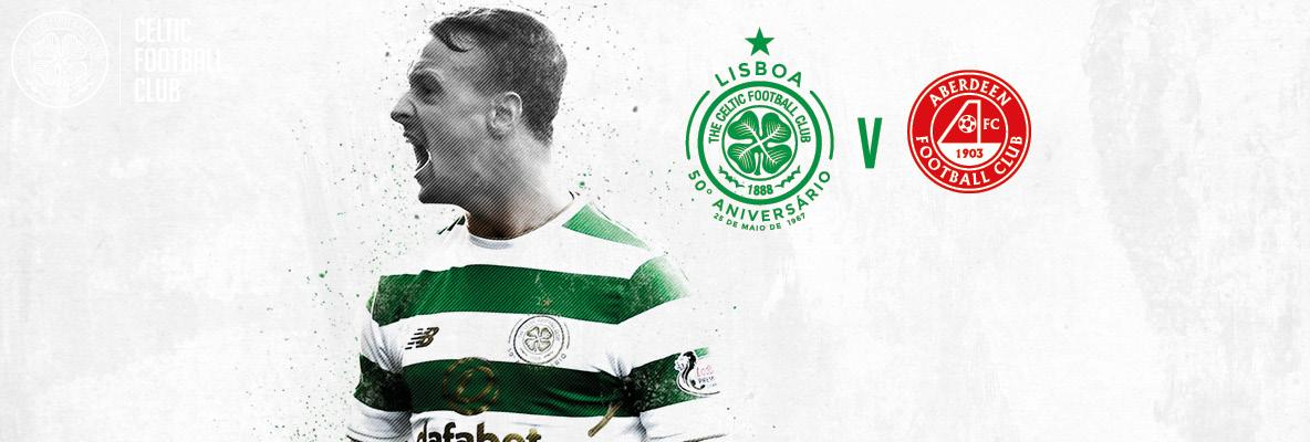 Last remaining tickets  for Celtic v Aberdeen – buy online now