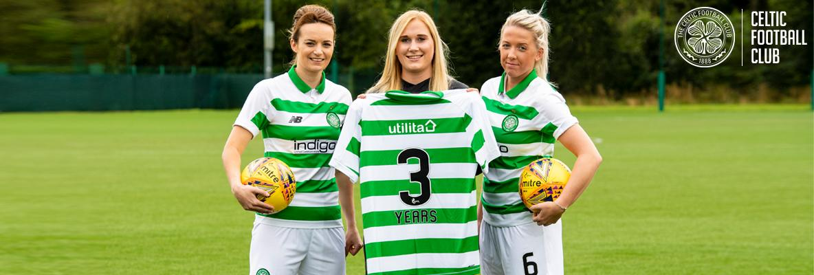 Utilita to sponsor Celtic Women's first team