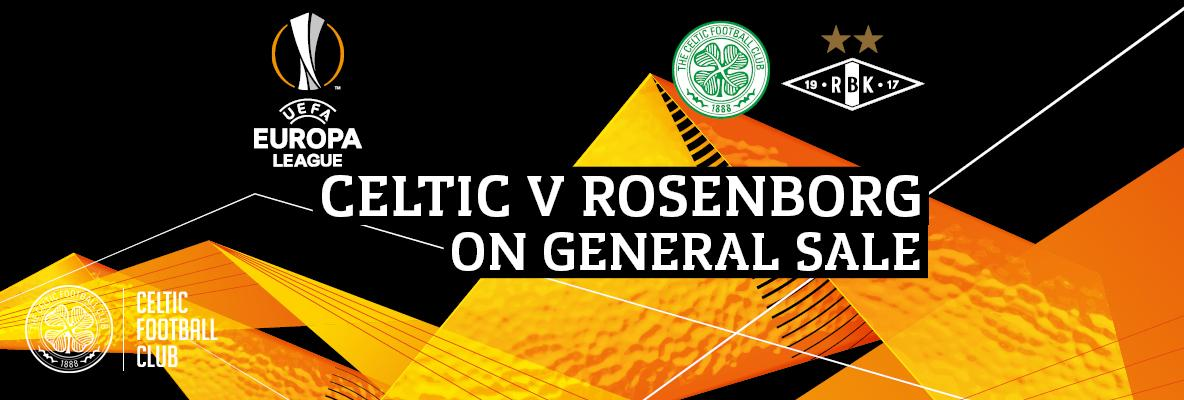 Celtic v Rosenborg single match tickets on sale now – don't miss out
