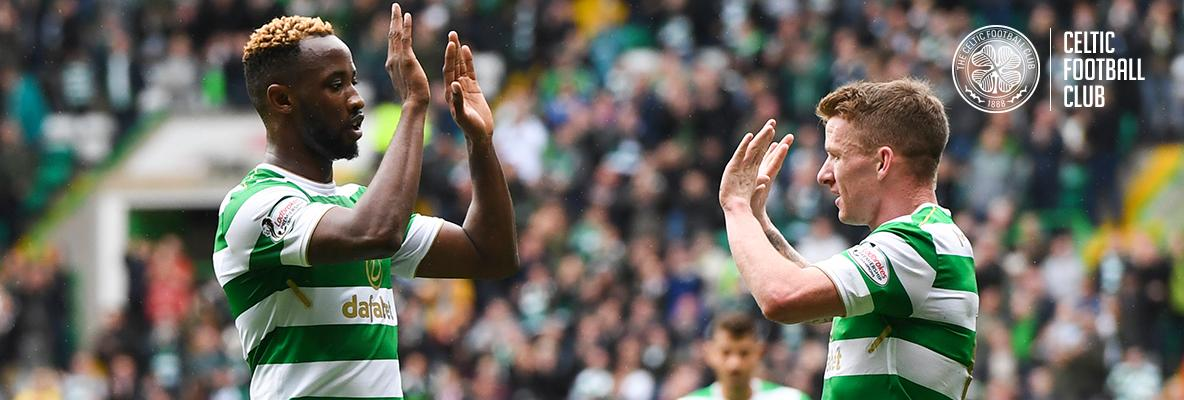 Dembele returns to goalscoring action as Celtic make it 55 unbeaten