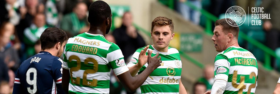 Manager: James Forrest has been consistently outstanding for us