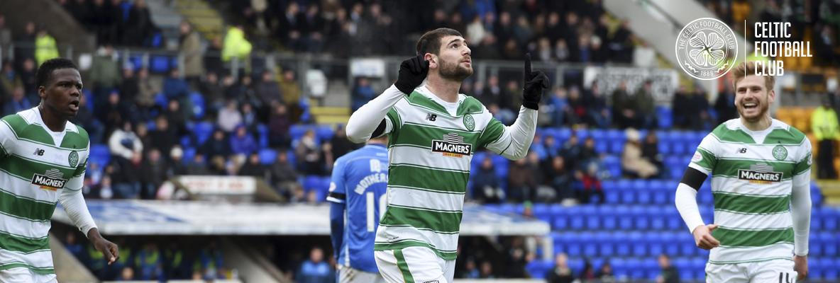 Ciftci brace helps Celts see off Saints