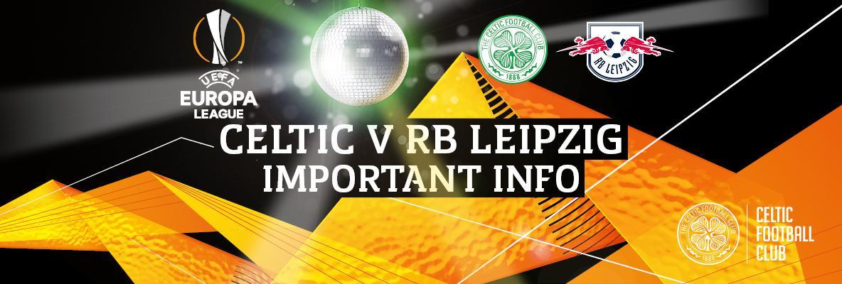 Stadium lightshow to make debut before Celtic v RB Leipzig